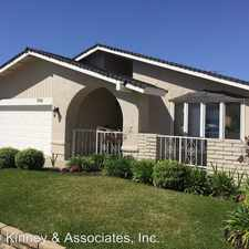 Rental info for 3561 PANSY CIRCLE in the Seal Beach area