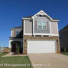 Rental info for 1787 Ruger Drive in the Sumter area