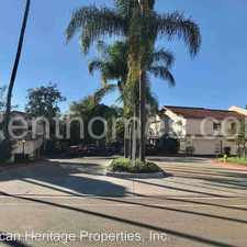 Rental info for 7650-6 Palmilla Drive in the San Diego area
