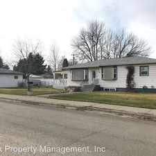 Rental info for 714 34th Street North in the 59401 area