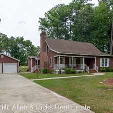 Rental info for 1240 Waterloo Drive in the Rocky Mount area