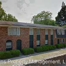Rental info for 1161 Boulevard Ave in the Macon area