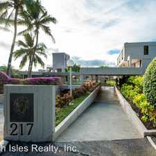Rental info for 217 Prospect Street #A14 in the Nuuanu - Punchbowl area
