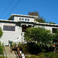 Rental info for 5858 Lawton Ave in the Upper Rockridge area