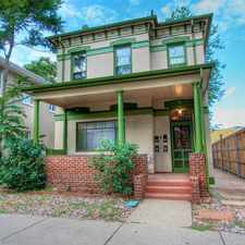 Rental info for 1767 North Emerson Street in the Denver area