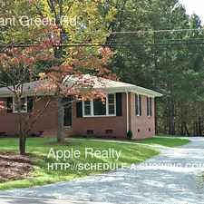 Rental info for 1523 Pleasant Green Rd