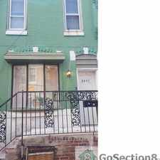 Rental info for Large 3 Bedroom Near Center City in the Philadelphia area
