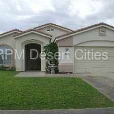 Rental info for Large Home with Huge Backyard in Cathedral City