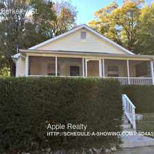 Rental info for 1115 Berkeley St. in the Durham area