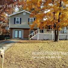 Rental info for 1594 Cherry Hill Lane