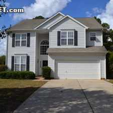 Rental info for Four Bedroom In Mecklenburg County in the Charlotte area