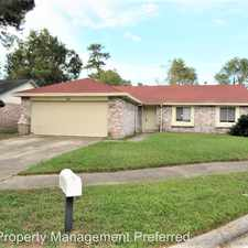 Rental info for 5327 Atascocita West Trl. in the Atascocita area