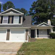 Rental info for 5465 Panola Downs Rd in the Redan area
