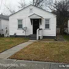 Rental info for 929 Beecher St. in the 40214 area
