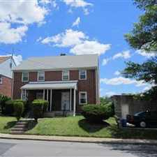 Rental info for Lovely Rowhome in a Quiet Area, Huge Backyard, Finished Basment , W/D. Back patio area with awning. Perfect area to raise your family. Contact Melissa @ Tenant Solutions 410-207-0617 in the Original Northwood area