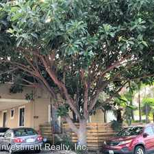 Rental info for 3622 E 11th Street in the Long Beach area