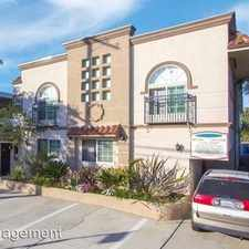 Rental info for 4106 Inglewood Bl 6 in the Marina del Rey area