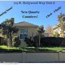 Rental info for 721 N Hollywood Way in the McNeil area