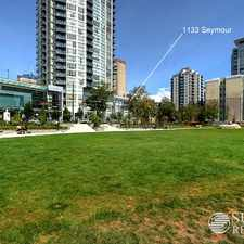 Rental info for 1133 Seymour Street in the Downtown area