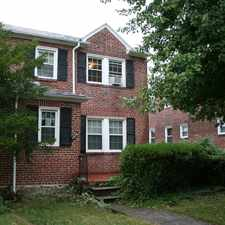 Rental info for Walther Ave & Cedarhurst Rd in the Baltimore area