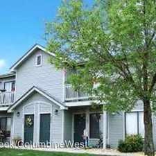 Rental info for 6748 S Webster St in the Columbine area