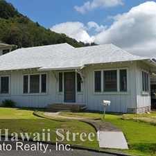 Rental info for 722 Hawaii Street in the Nuuanu - Punchbowl area