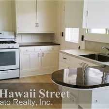 Rental info for 722 Hawaii Street
