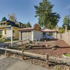 Rental info for 5317 Se 70th Ave in the Foster-Powell area
