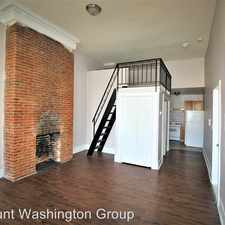 Rental info for 1808 Mcculloh St in the Upton area