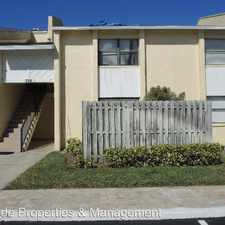 Rental info for 596 N. Wickham Road Unit 67 in the 32935 area