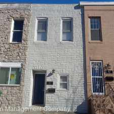 Rental info for 1123 S. Carey St. in the Washington Village area