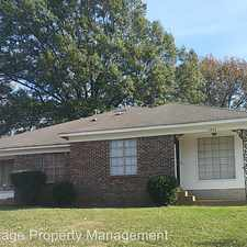 Rental info for 3558 Fox Meadows Rd in the Southeast Memphis area
