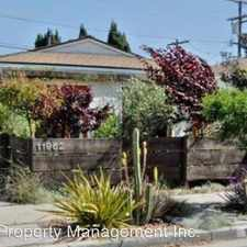 Rental info for 11962 Culver Drive in the Marina del Rey area