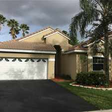 Rental info for 1212 Bayview Circle in the Weston area