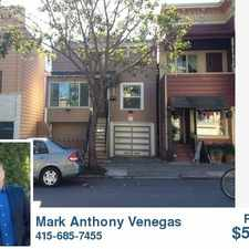 Rental info for 3929 18th St. in the Castro area