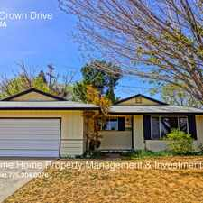 Rental info for 1201 Crown Drive in the Reno area