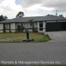 Rental info for 21293 Wardell Ave in the 33952 area