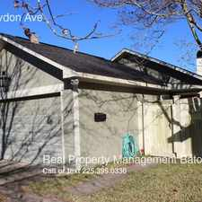 Rental info for 145 Croydon Ave in the Baton Rouge area