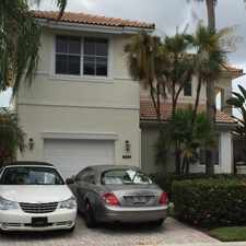 Rental info for 8201 Sandpiper Way in the West Palm Beach area