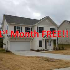 Rental info for 1ST MONTH FREE!!!! New 4 bed 2.5 bath homes in Oakview Commons, Salisbury NC