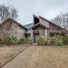 Rental info for Beautiful 3 Bedroom in Richardson!!! in the Dallas area