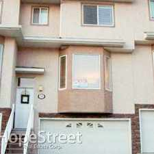 Rental info for 76 Country Hills Gardens NW - 2 Bedroom Townhome for Rent