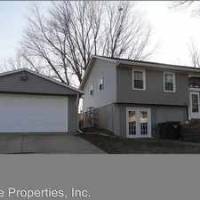 Rental info for 2324 PineHurst Drive in the Bettendorf area