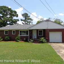 Rental info for 720 Arvin Road in the Chesapeake area