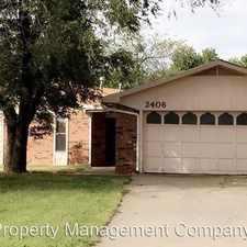 Rental info for 2406 Constitution in the Enid area