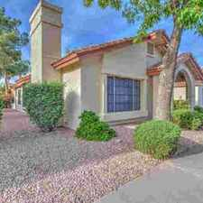 Rental info for 1120 N VAL VISTA Drive #10 Gilbert, Check out your new home.