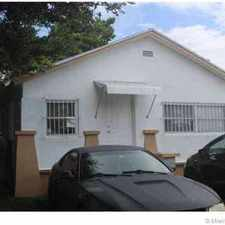 Rental info for 1611 NW 64 Miami, Cute starter home with Three BR Two BA
