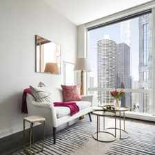 Rental info for 111 W Wacker Convertible in the The Loop area