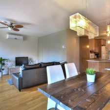 Rental info for 9030 Le Corbusier #8 in the Brossard area