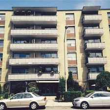 Rental info for Pape Ave & Cosburn Ave in the Broadview North area